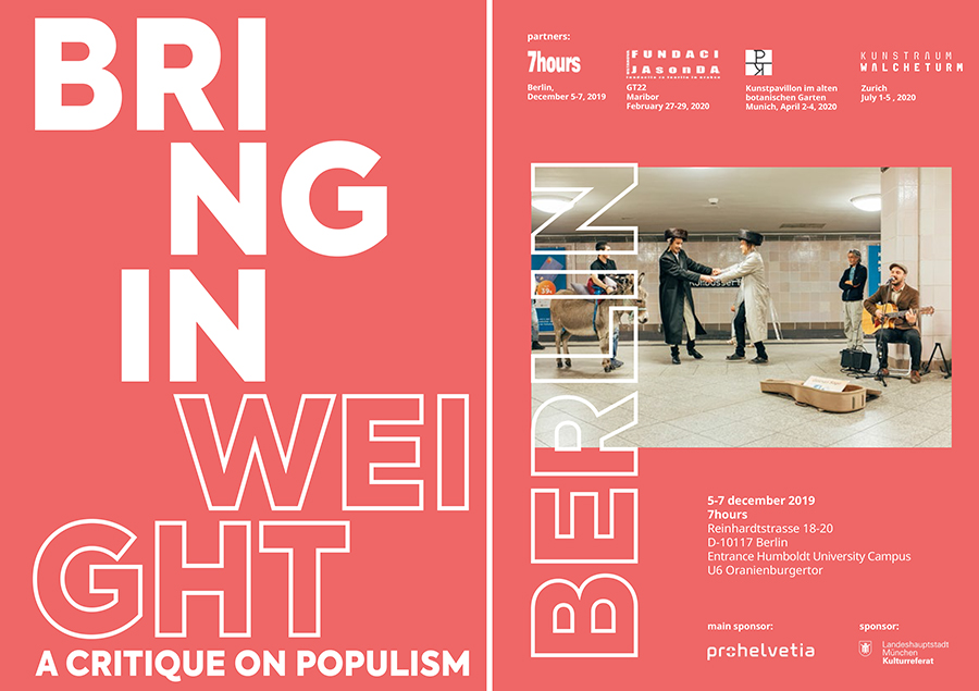 bring in weight, a critique on populism